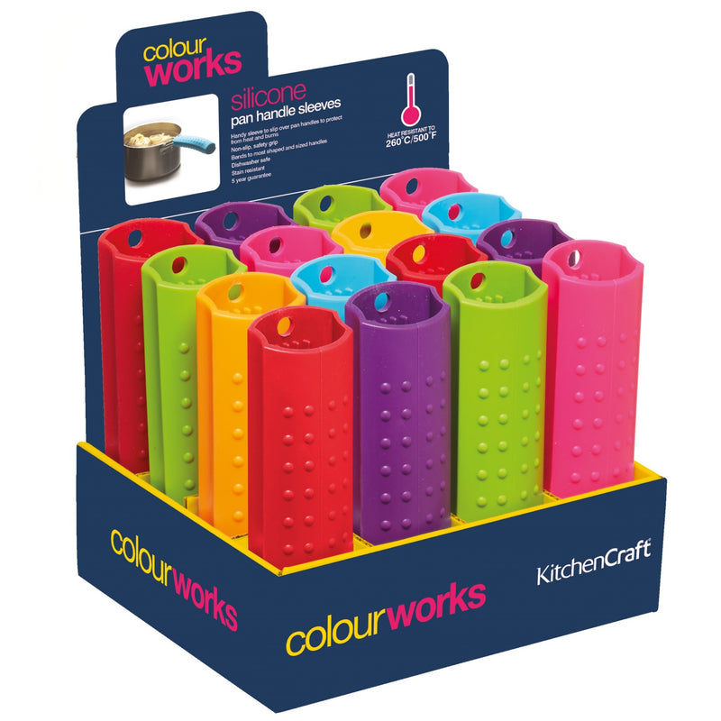 Colourworks CWSILPHCDISP Silicone Pan Handle Sleeve - Various Colours