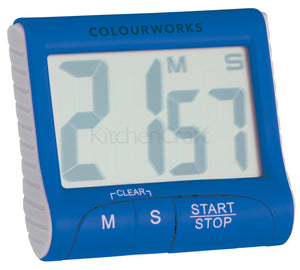 Colourworks CWTIMDISP12 Electronic Timer - Various Colours