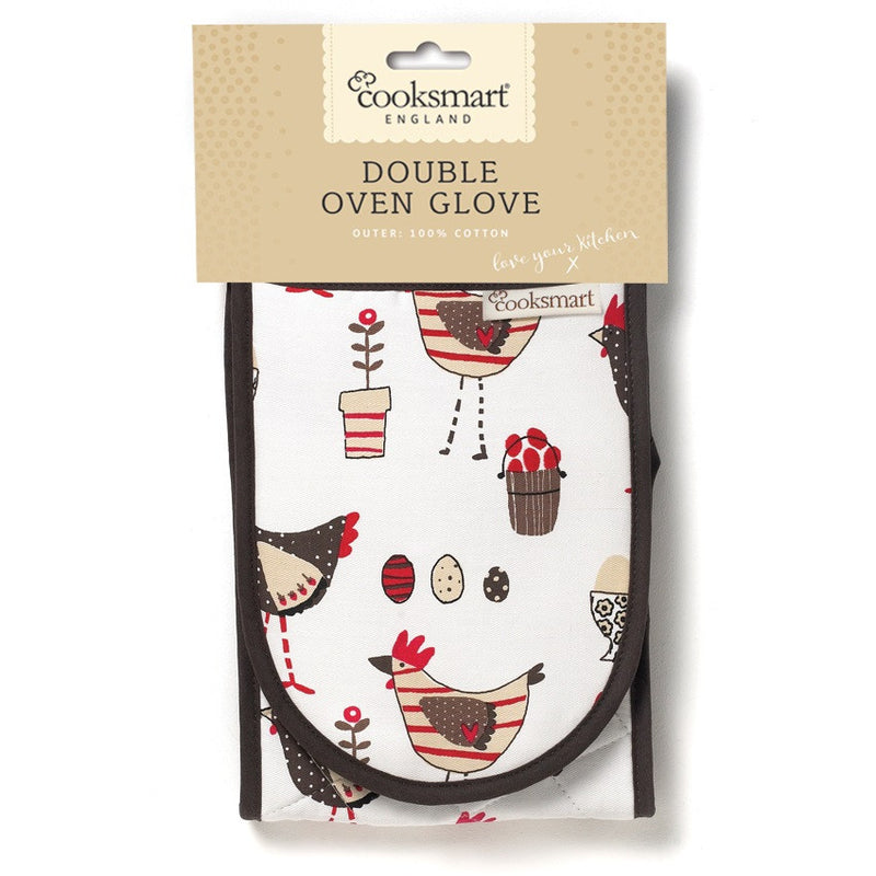 Cooksmart 8158 Double Oven Glove - Chicken