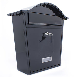 Sterling MB01B Classic Style Post Box - Black