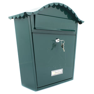 Sterling MB01G Classic Style Post Box - Green