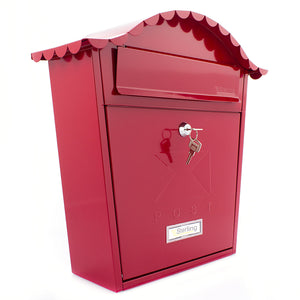Sterling MB01R Classic Style Post Box - Red