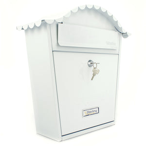 Sterling MB01 Classic Style Post Box - White