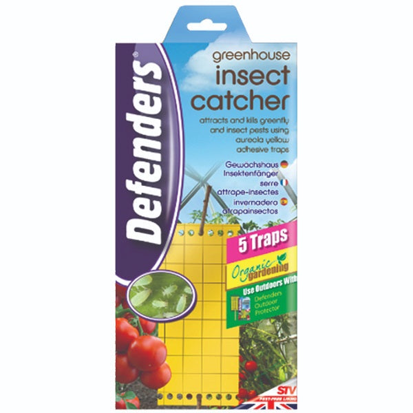 Defenders STV017 Greenhouse Insect Catcher 5 Traps