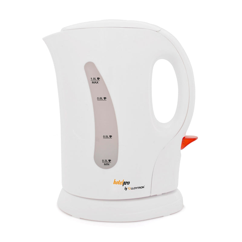 Lloytron E1105WH HotelPro 1.1Kw 1.0Ltr Cordless Kettle - White