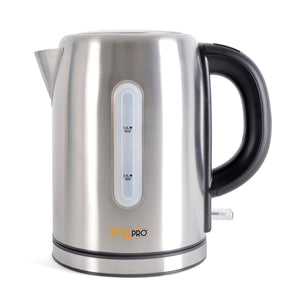 Lloytron E1106BSB HotelPro 2.2Kw 1.0Ltr Cordless Kettle - Brushed Steel