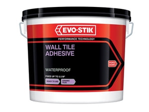Evo-Stik Waterproof Wall Tile Adhesive - Various Sizes