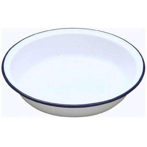 Falcon Enamelware Round Pie Dish - Various Sizes