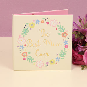 Ditsy Floral FL701 Paperwrap Double Frame - The Best Mum Ever