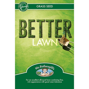 Mr. Fothergill's Better Lawn Grass Seed - Various Sizes