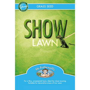 Mr. Fothergill's Show Lawn Grass Seed - Various Sizes