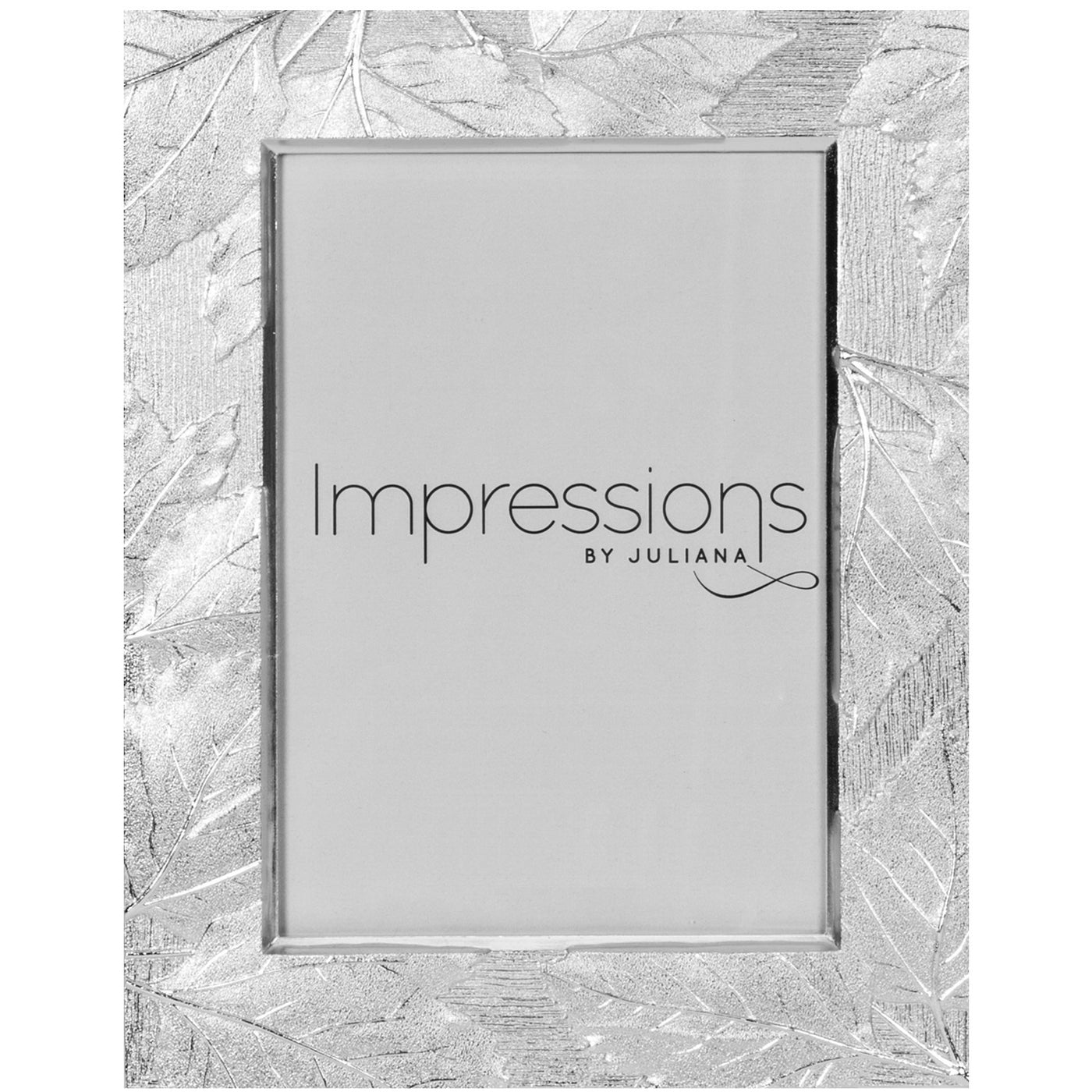 Impressions Leaf Design Silver plated Photo Frames - Various Sizes