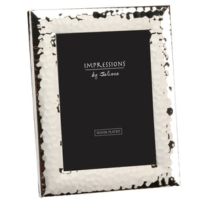 Impressions Hammered Silverplated Photo Frames - Various Sizes