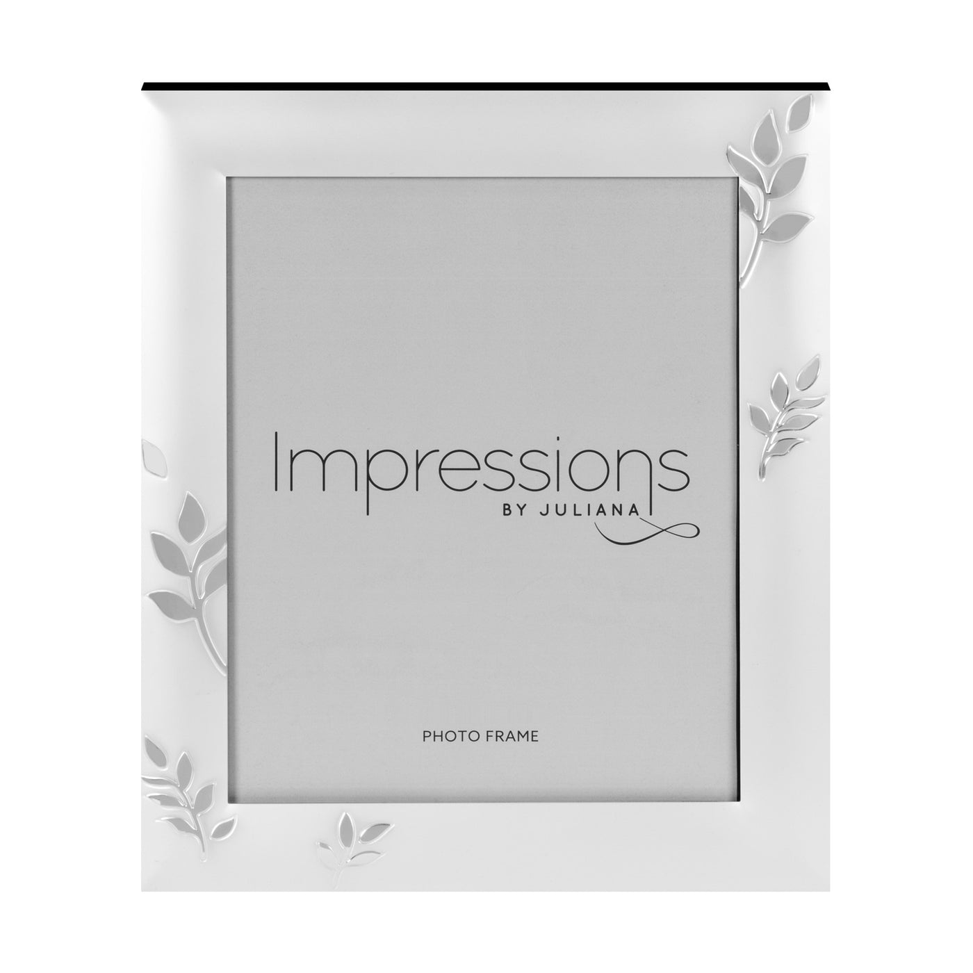 Impressions Leaf Design Silverplated Photo Frames - Various Sizes ...