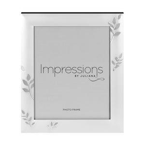 Impressions Leaf Design Silverplated Photo Frames - Various Sizes