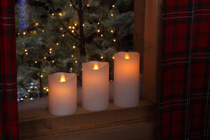 Noma Flickering LED Candle - Various Sizes