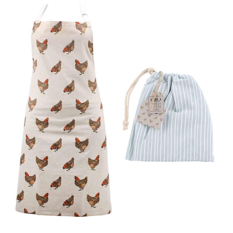 CGB GB00209 Holly House Chicken Apron