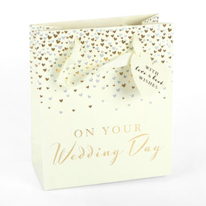 Amore GB108 On Your Wedding Day Gift Bag - Medium