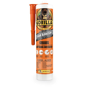 Gorilla 2044001 White Grab Adhesive Cartridge 290ml