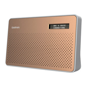 Goodmans CANVASCOP Canvas Portable DAB/FM Radio - Copper