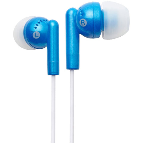 Groove GVEB3BE Kandy Earphones - Blue