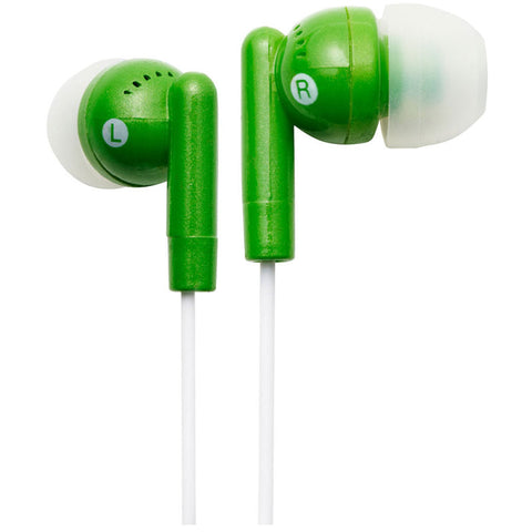 Groove GVEB3GN Kandy Earphones - Green