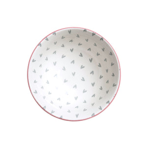 Sophie Allport PNB3401 Patterned Nibbles Bowl - Hearts