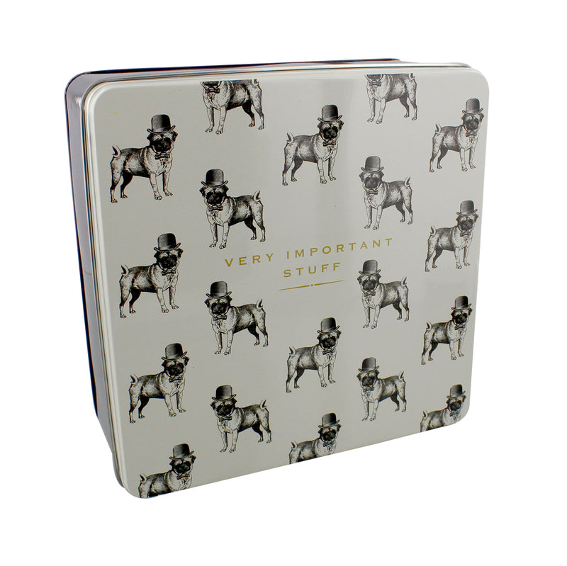 Emporium HM941 Square Storage Tin - Very Important Stuff