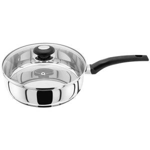 Judge Basics HP18 Saute Pan 24cm with Glass Vented Lid