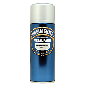 Hammerite Metal Paint Hammered 400ml Aerosol - Various Colours