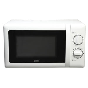 Igenix IG2071 Manual Microwave Oven White 20Ltr 700w