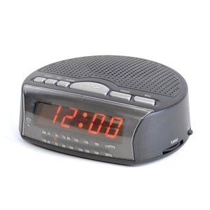 Lloytron J2006BK AM / FM Radio Alarm Clock - Black
