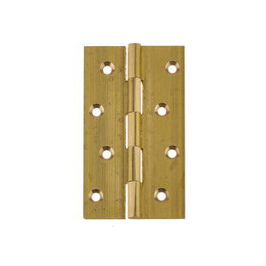 Frelan Solid Drawn Brass Butt Hinge - Various Sizes