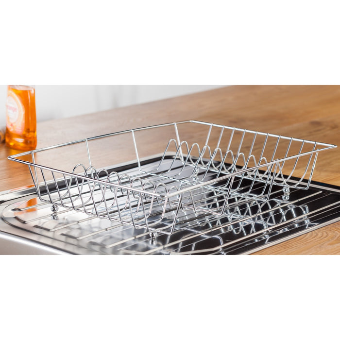 Judge JF42 Wireware Drainer Chrome Plated 48x32x8.5cm