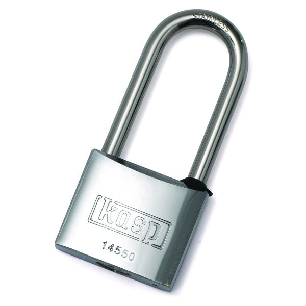 Kasp K14550L63D Marine Padlock 50mm With Long Shackle