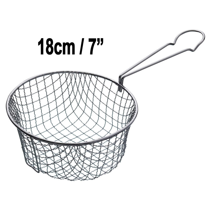 Kitchen Craft Frying Basket For saucepan