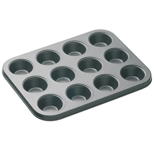 Masterclass KCMCHB17 Non-Stick 12 Hole Mini Bake Pan