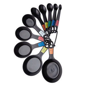 Kitchencraft KCMEASURE10PC Stacking Measuring Spoons Set of 10