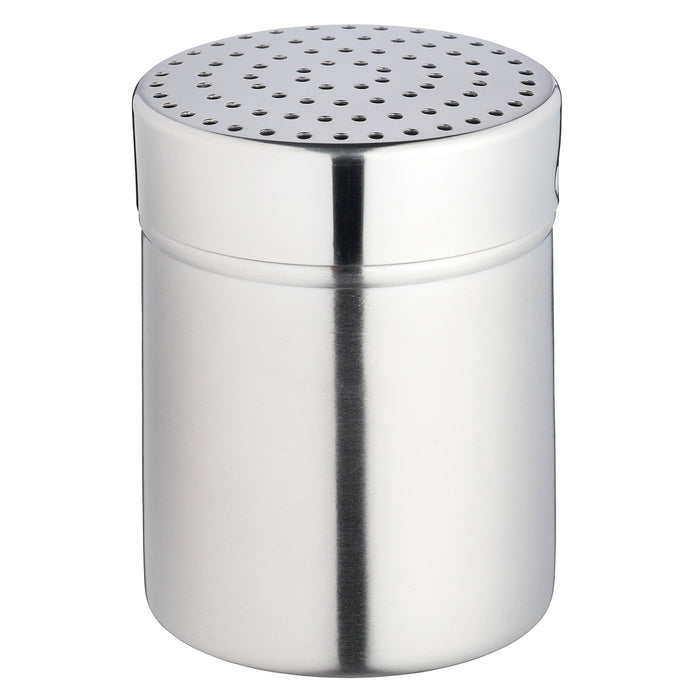 Kitchencraft KCMEDIUM Stainless Steel Medium Hole Shaker and Lid