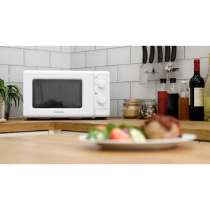 Daewoo KOR6M17R White Manual Microwave Oven 20Ltr 700w