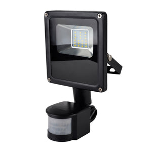 RapidResponse L8511DP 10w Slimline LED Floodlight with PIR & 1m Cable