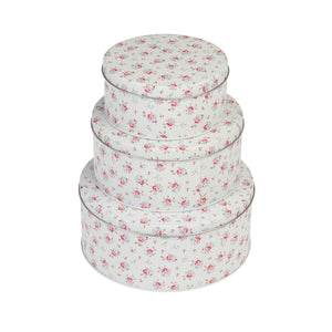 Rex London 25724 Round Metal Cake Tins Set of 3 - La Petite Rose