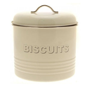Lesser & Pavey LP22223 Home Sweet Home Cream Biscuit Tin / Barrel