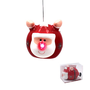Lesser & Pavey LP40138 Christmas Santa LED Bauble