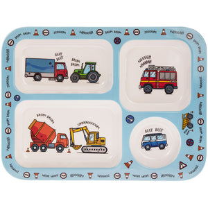 Lesser & Pavey LP42481 Vehicles Melamine Eating Tray