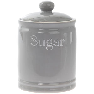 Lesser & Pavey LP42671 Grey Classic Sugar Canister / Jar