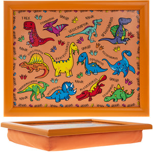 Lesser & Pavey LP42724 Dinosaurs Small Lap Tray - 35x28cm
