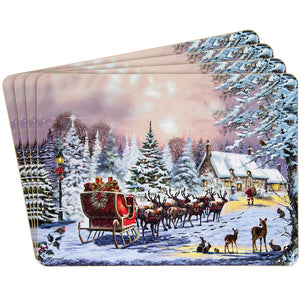 Lesser & Pavey LP51067 The Magic Of Christmas Placemats - Set of 4