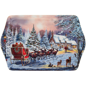 Lesser & Pavey LP51068 The Magic Of Christmas Melamine Tray - Small