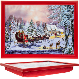 Lesser & Pavey LP51073 The Magic Of Christmas Laptray